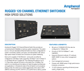 Document 120 Channel Ethernet Switchbox Data Sheet