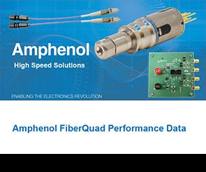 Document Amphenol Fiber Quad Performance Data