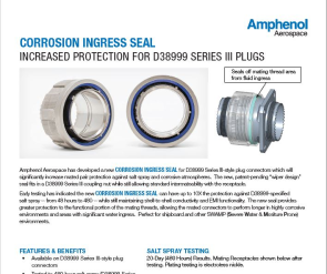 Document Corrosion Ingress Seal