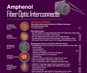 Document Fiber Optic Catalog Section