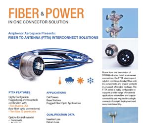 Document Fiber to Antenna (FTTA) Data Sheet