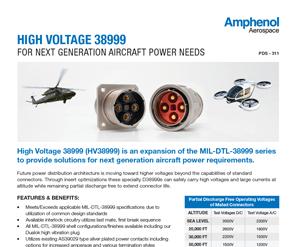 Document High Voltage 38999 (HV38999)