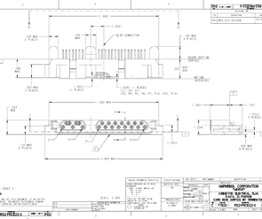 Document R-SATA Plug Right Angle Card Edge Connector