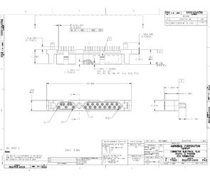 Document R-SATA Plug Straight Connector
