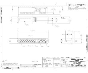 Document R-SATA Receptacle I/O PCB Connector