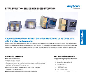 Document R-VPX Evolution 2 Product Data Sheet