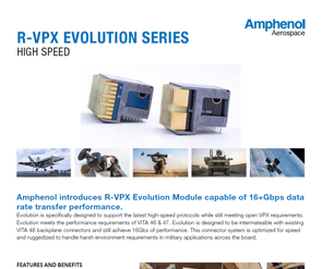 Document R-VPX Evolution Data Sheet