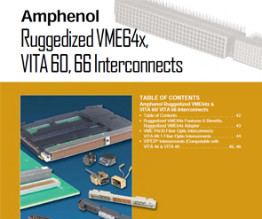 Document Ruggedized VME 64x Catalog Section