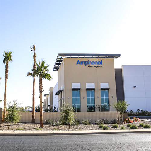 News Amphenol Aerospace Opens New Manufacturing and Design Facility in Arizona