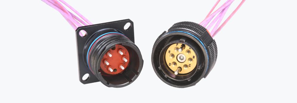 Product ARINC 801 Fiber Optic Connectors