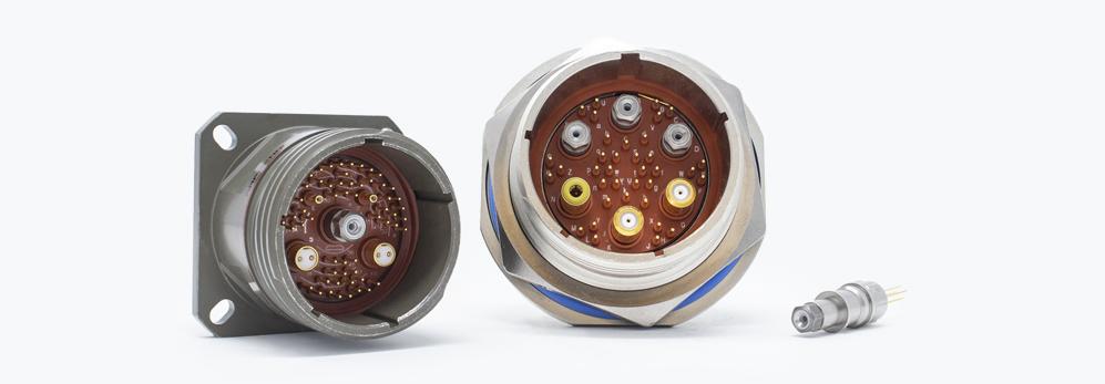 Product FiberQuad Ruggedized Quadrax Contacts