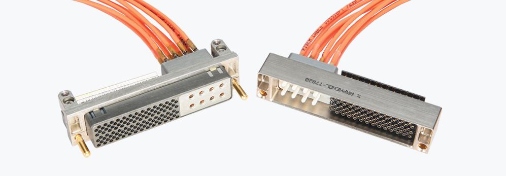 Product Rectangular Connectors with Fiber Optic Termini